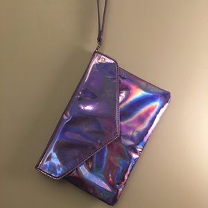 Holographic Clutch by Deena and Ozzy